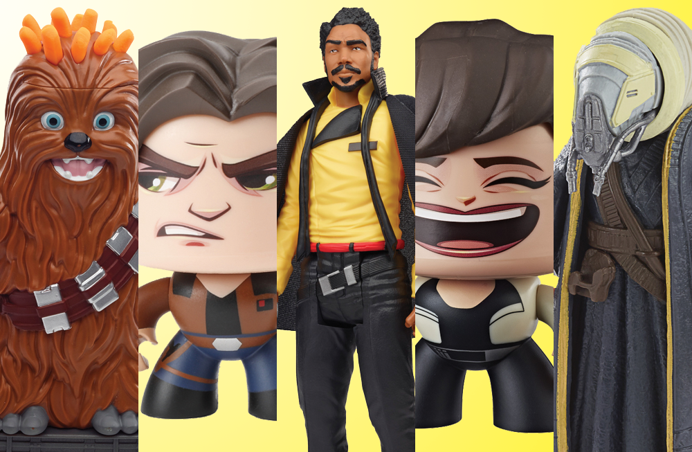 Hasbro: 'Solo: A Star Wars Story' Toys Revealed