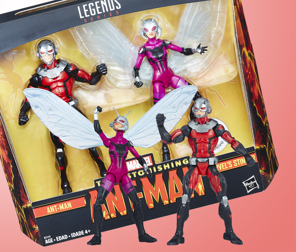 Hasbro: Marvel Legends Stinger and Ant-Man Two-Pack Finds New Home
