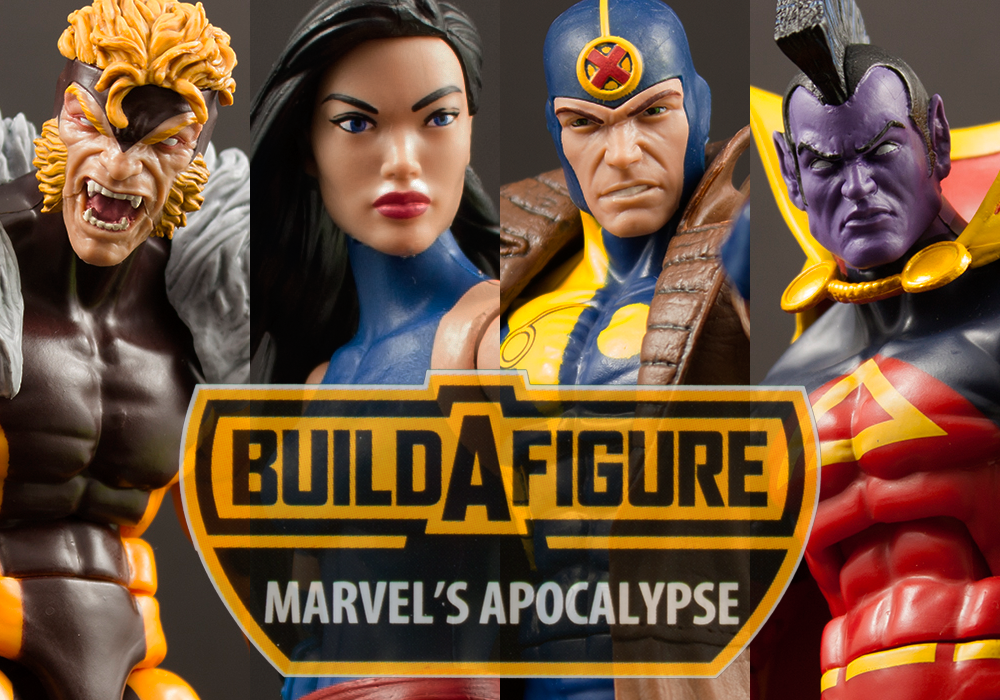 Worst to First: Marvel Legends X-Men Apocalypse Build-A-Figure Wave Part One