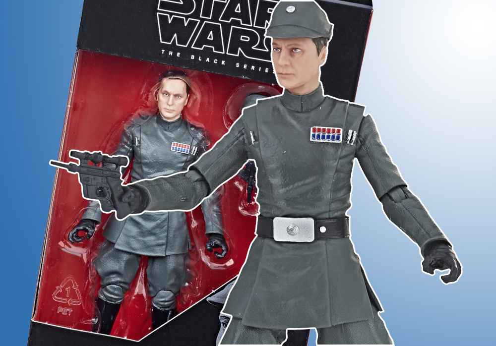 Hasbro: Star Wars Black Series Admiral Piett Reveal and Preorder