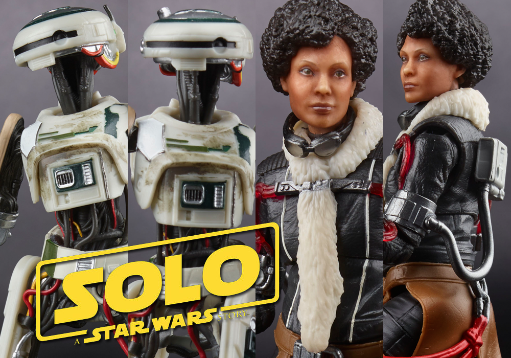 Hasbro: Solo: A Star Wars Story Black Series Val and L3-37 Official Reveal + More