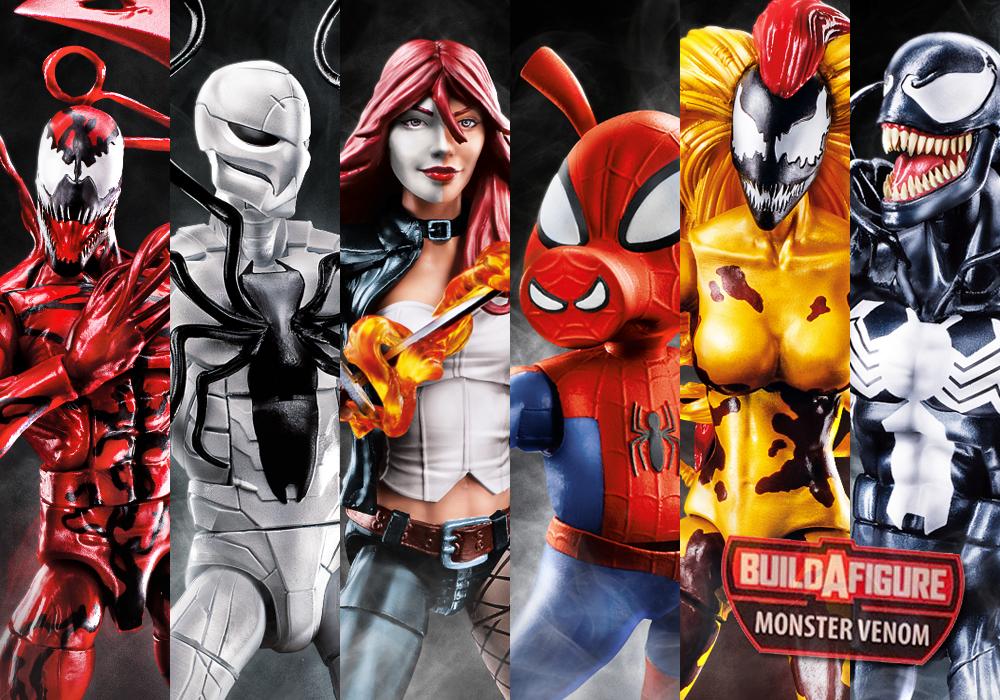 Hasbro: Marvel Legends Monster Venom BAF Wave Full Lineup Revealed