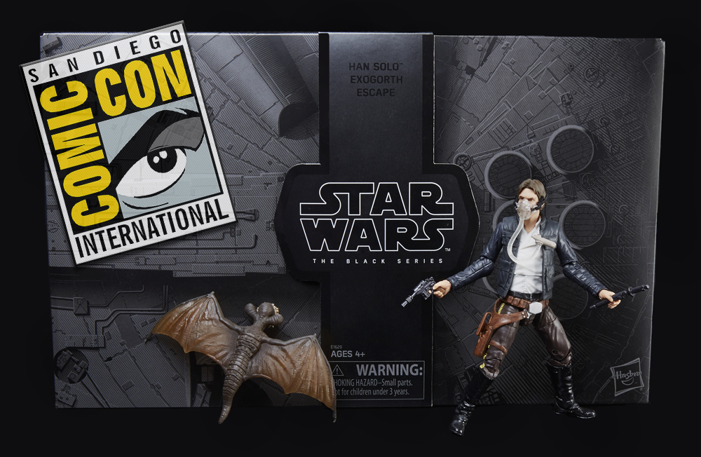 SDCC 2018: Hasbro Star Wars Black Series Six-Inch Exclusives Revealed