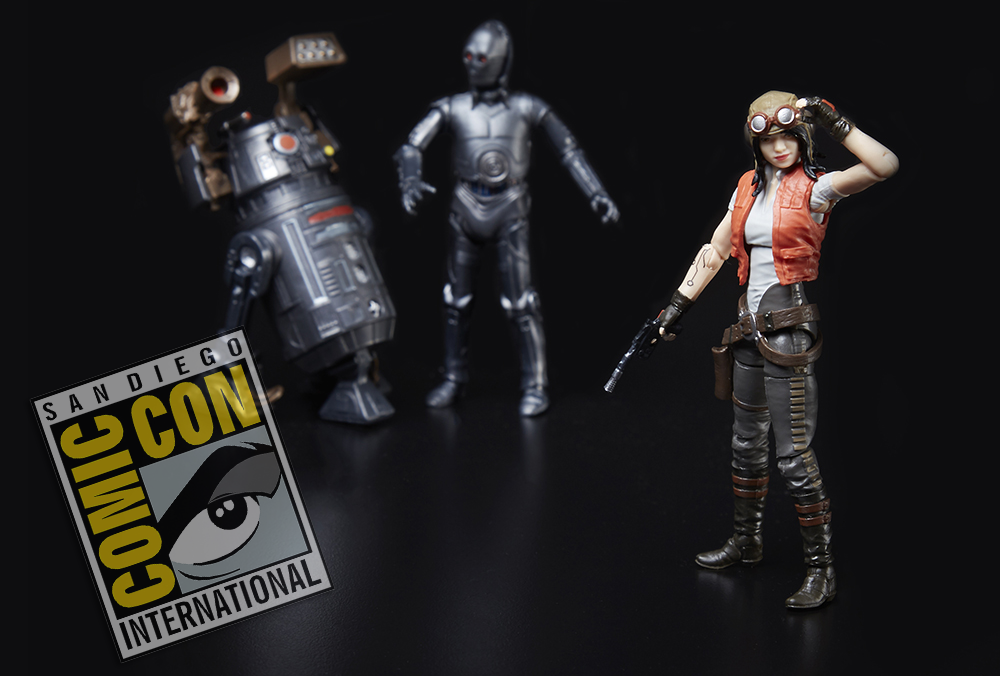 SDCC 2018: Hasbro Star Wars Vintage Collection Doctor Aphra Exclusive Set
