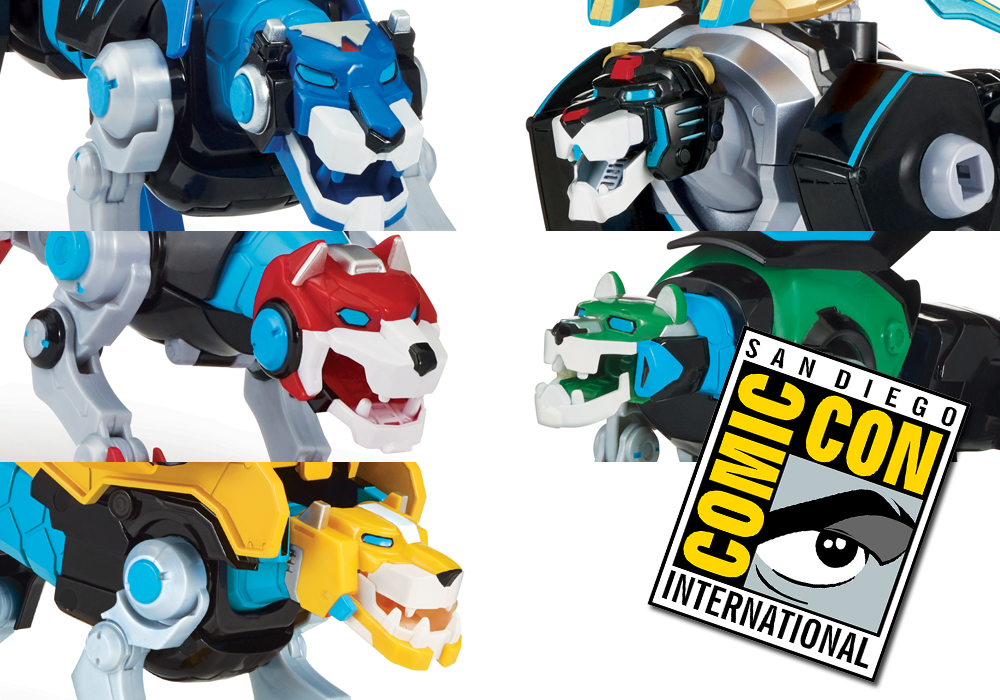SDCC 2018: Playmates Voltron Hyper-Phase Legendary Lions Exclusive Revealed
