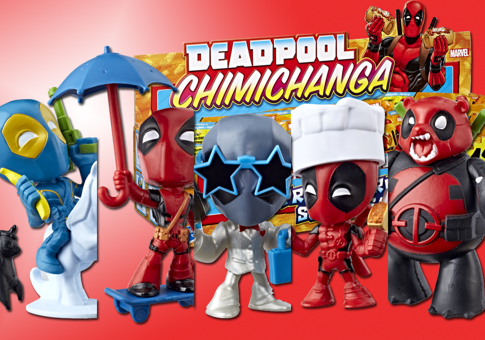 Hasbro: Marvel Deadpool Chimichanga Surprises Revealed