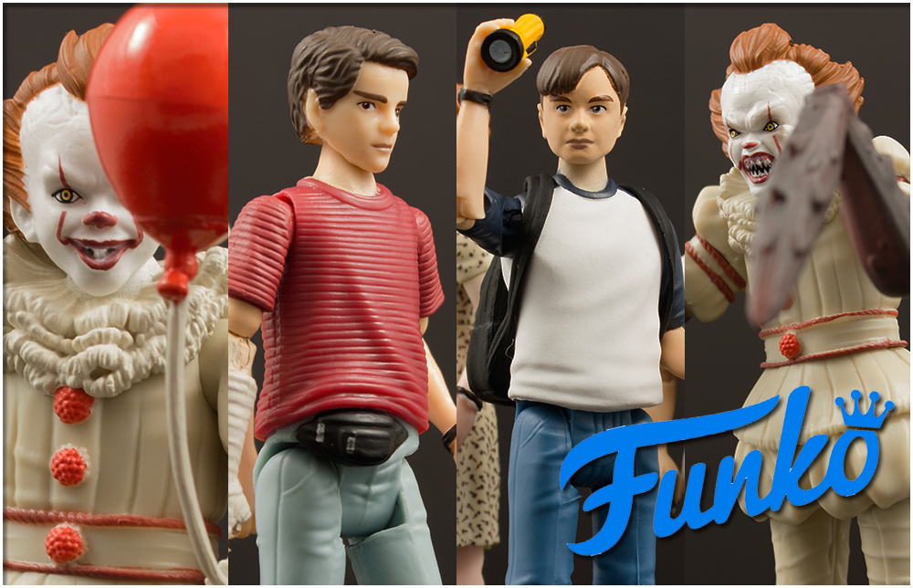 First Look: Funko It Action Figure Three-Packs