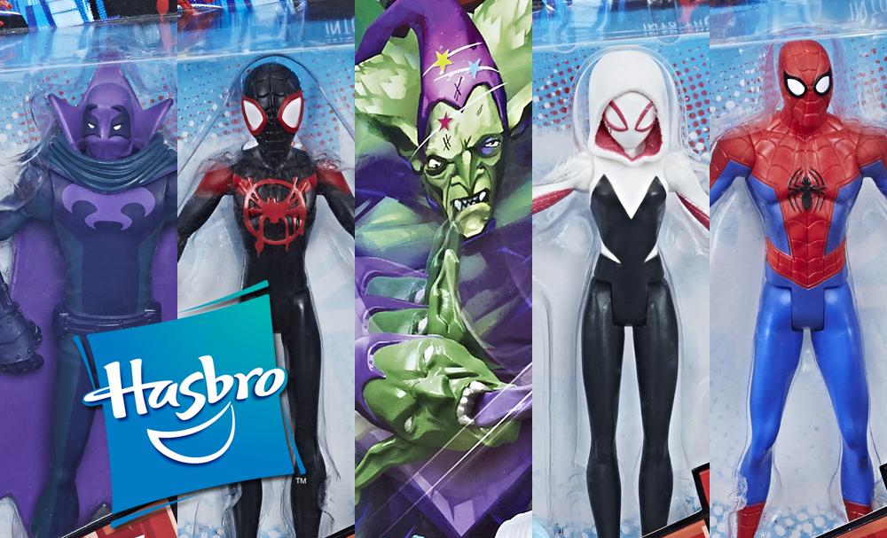Hasbro: Marvel Spider-Man: Into the Spider-Verse Product Images Revealed