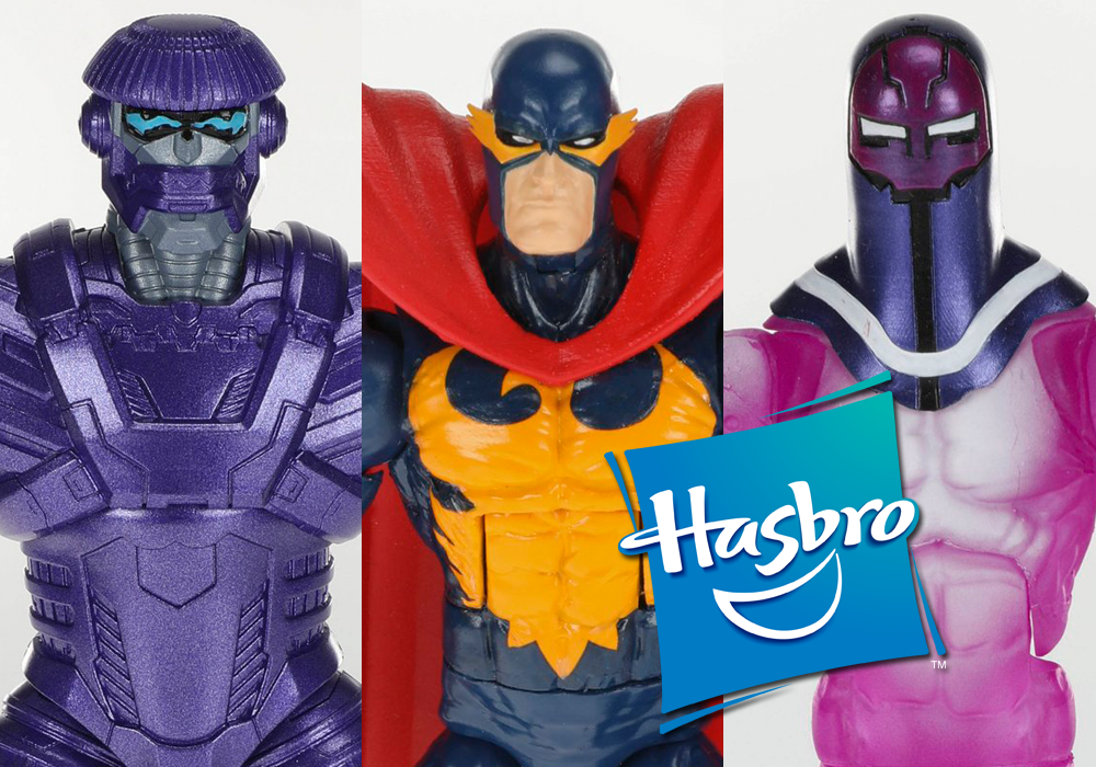 Hasbro: Marvel Legends Kree Sentry, Nighthawk, and Living Laser Revealed