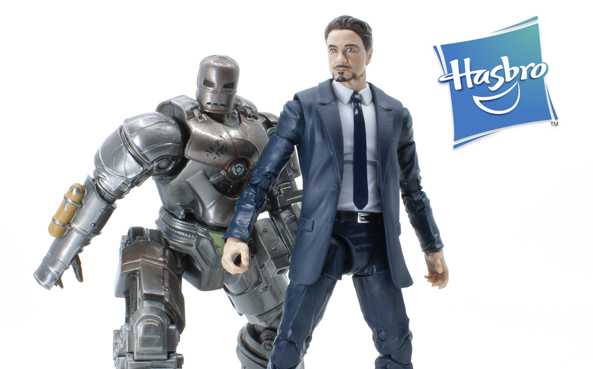Marvel Legends MCU 10th Anniversary Tony Stark & Iron Man Mark 1 Review