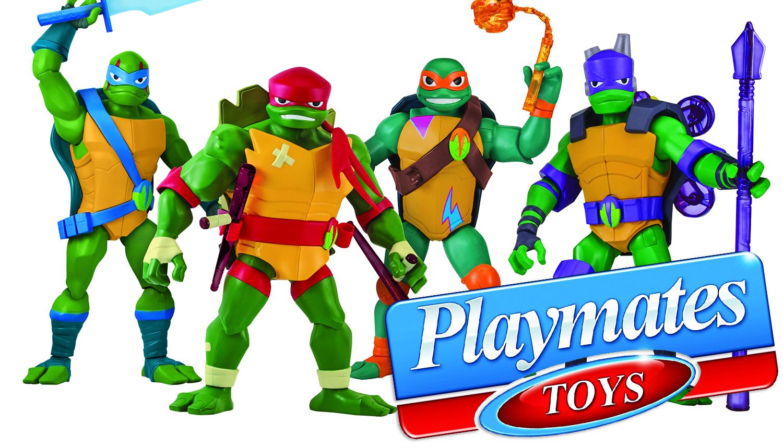 Playmates: All-New Teenage Mutant Ninja Turtles Toys Rise To Retail Stores