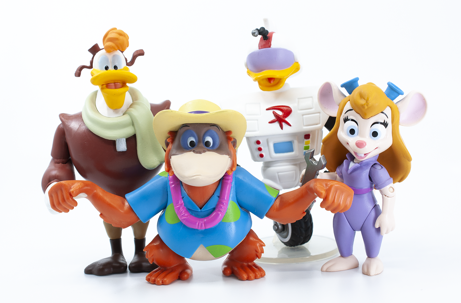 Funko Disney Afternoon 3.75-Inch Wave 2 (Gizmoduck, Gadget, Launchpad, and King Louie) Review