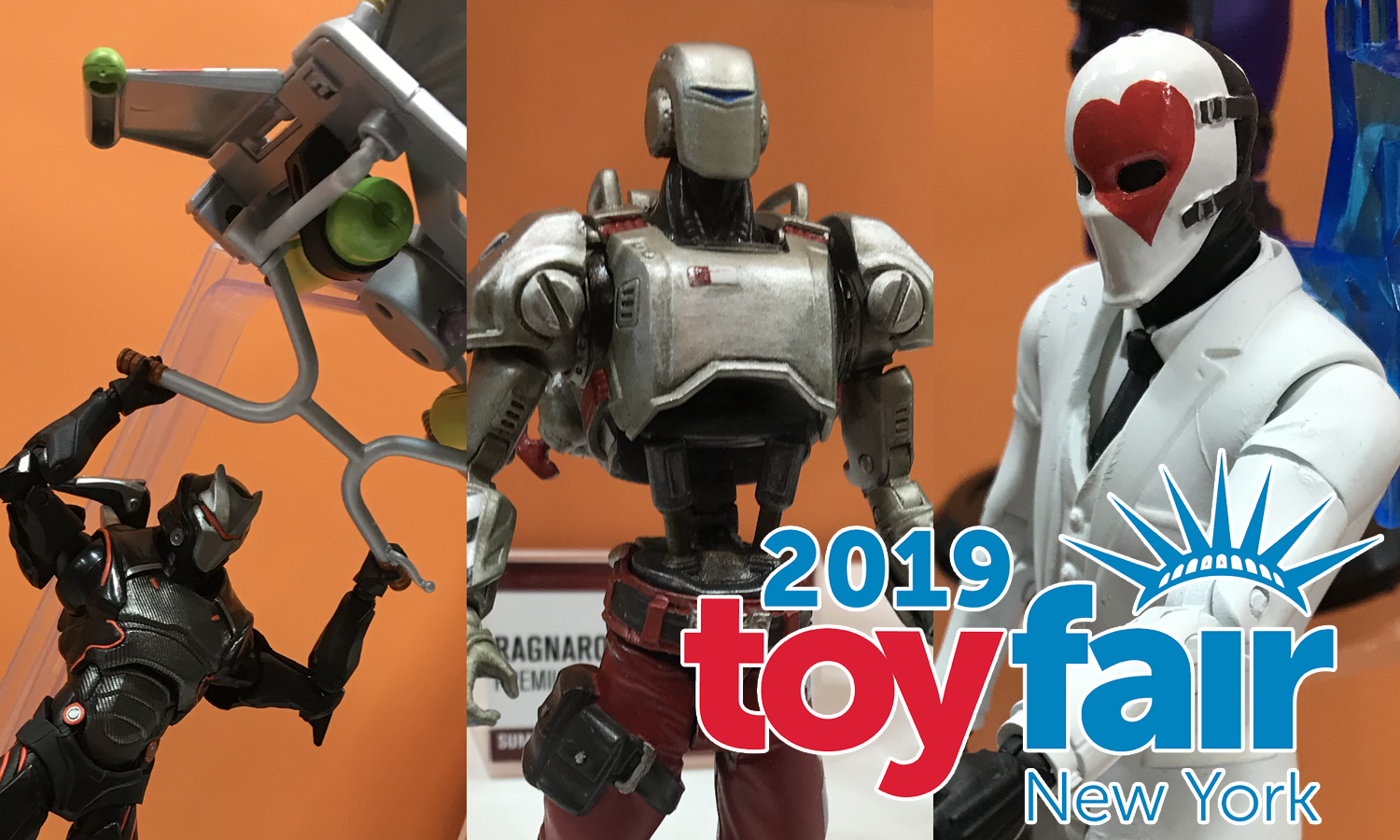 Toy Fair 2019: McFarlane Toys Tricks Out Fortnite With Vehicles, Gliders, and More