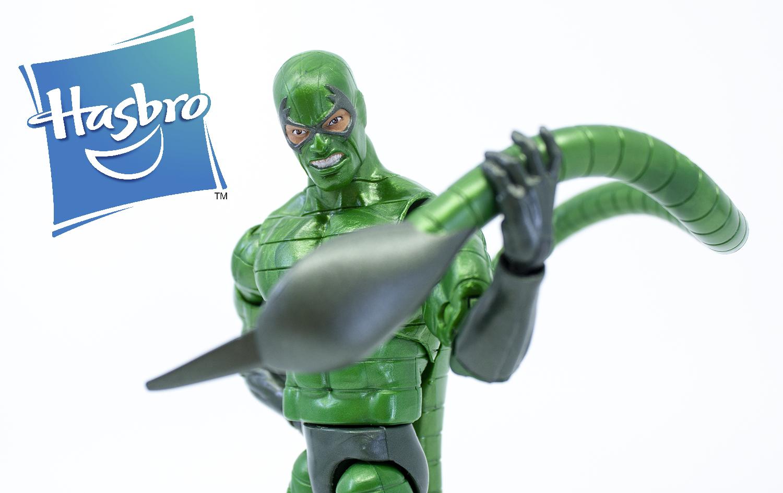 Marvel Legends Spider-Man Series Molten Man BAF Wave Scorpion Review