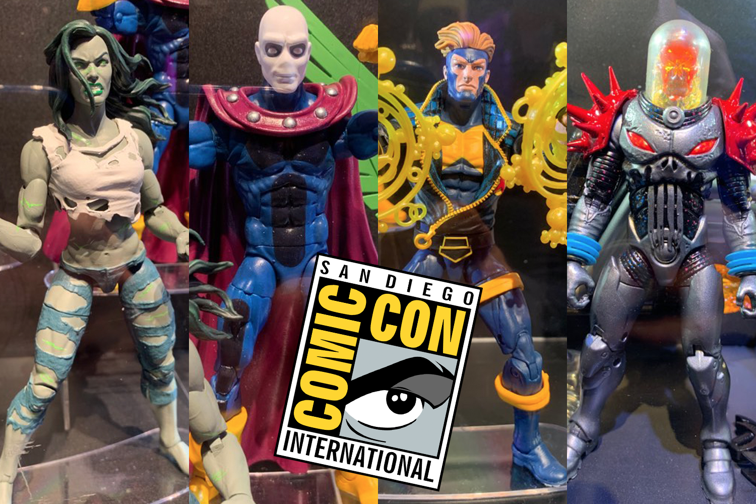 SDCC 2019: Hasbro Marvel Legends Floor Display Shots